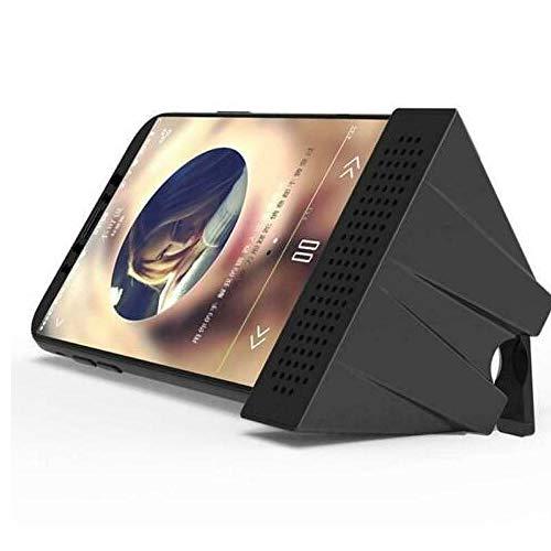 Gamloious ABS Mini-Lautsprecher Stereo-Verstärker-Telefon-Halter Halterung Tragbarer Ständer