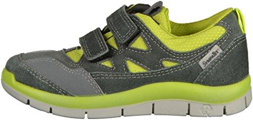 Ricosta  Olaf, Sneakers Basses Garçons Gris/Jaune