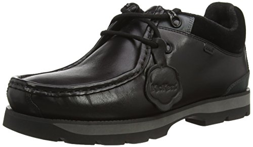 Kickers Bosley Para-D Lthr Am Men's Shoes Black (Black), 10 UK (44...
