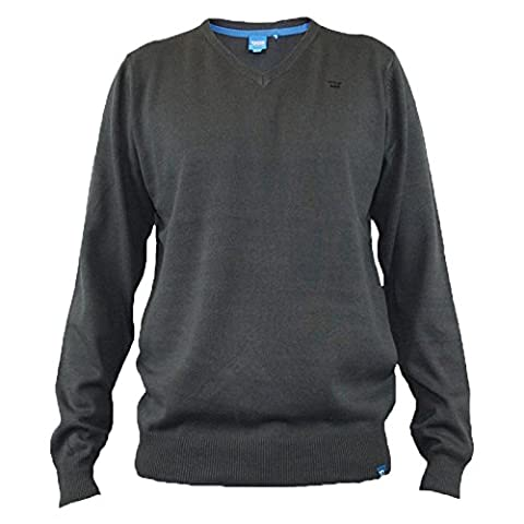 Duke London - Sweat-shirt - Manches Longues - Homme Noir Charbon