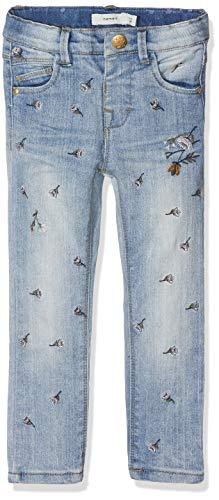 NAME IT Baby-Mädchen Jeans NMFPOLLY DNMBAGUNA 1083 Pant, Blau Light Blue Denim, 86