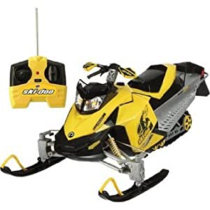 Interactive Toy Concepts 17'' Skidoo Rc Snowmobile With Hard Surface Roller Skis & Realistic Design Jouets, Jeux, Enfant, Peu, Nourrisson