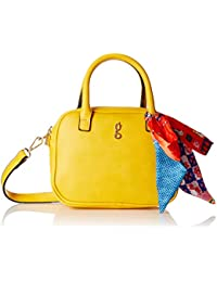 global desi Women's Sling Bag (Ochre Yellow)