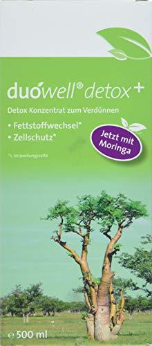 duówell Detox Plus Konzentrat – Antioxidantien-Konzentrat Zum Verdünnen Für 20 Tage, 500 ml