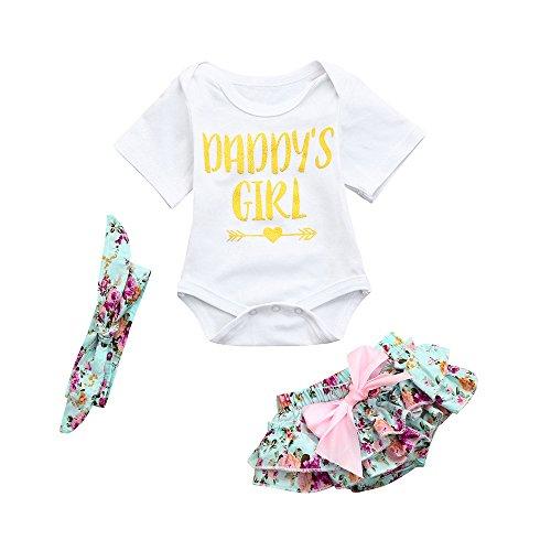 OVINEE 3 stücke Neugeborenen Babyspielanzug Mädchen Drucken Overall Kleidung Outfit Anzug Set Kostüm Kurze Hosen Shorts - Baby Jungen Socke Affe Kostüm