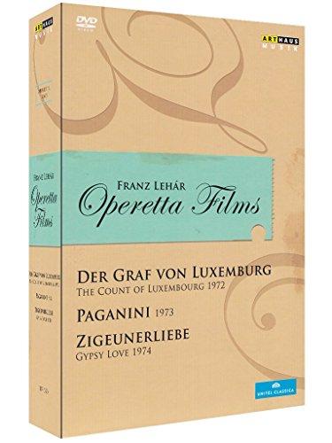 Franz Lehar - Operettenfilme [3 DVDs]