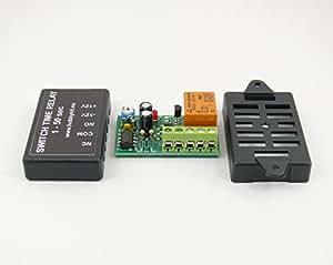 Interrupteur de minuterie RELAIS TEMPORISATEUR 1 à 50 S délai OFF 12 V