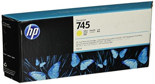 Hewlett Packard 936570 Cartouche d'encre d'origine compatible avec Imprimante DesignJet Z2600 24-in PostScript/DesignJet Z5600 44-in PostScript Jaune