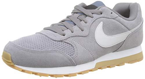 Nike Herren Md Runner 2 Suede Laufschuhe, Mehrfarbig (Gunsmokesea/Vapste Grey/Black/Gum Light Brown 002), 41 EU (Fußball-schuhe Für Männer, Nike)