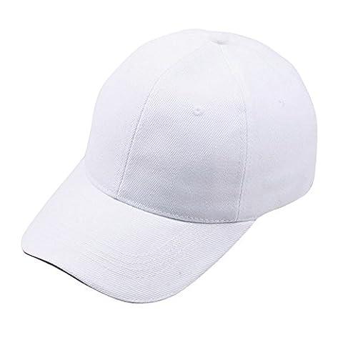 TraumzimmerUnisex Baseball Cap Snapback Hut Hip-Hop Caps Verstellbare Hüte Weiß