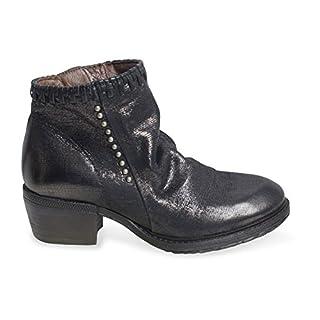 A.S.98 Damen Stiefelette CORN17 Farbe Nero/schwarz schöner Schuh für die Abendgadrobe (40)