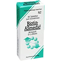 BIOTIN ASMEDIC 2,5 mg Tabletten 40 St Tabletten preisvergleich bei billige-tabletten.eu