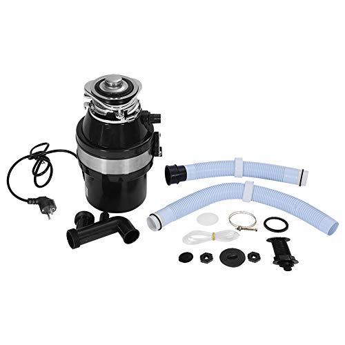 Broyeur de Déchets Silencieux Broyeur Electrique 1 HP 2600R/min pour Maison Cuisine Evier Capacité Max 1 L