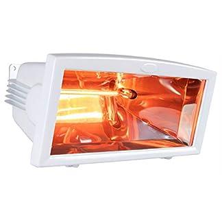 Foco infrarrojo para exteriores, color blanco