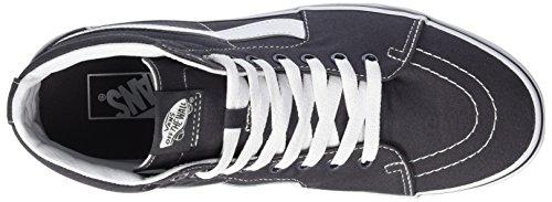 Vans Mens Sk8-hi Sneakers Alte Grigio (tela)