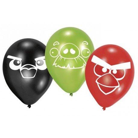 Angry Birds Luftballons 8 Stück (Angry Birds Luftballons)