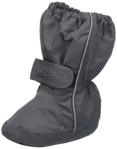 Playshoes Kinder Thermo-Bootie, Grau (grau 33), 22/23 EU -