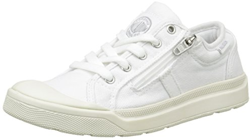 Palladium Palaru Z K, Baskets Basses Mixte Enfant, Blanc (C23 White/White/Monument), 29 EU