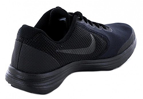 Nike Revolution 3 Bg, Chaussures de Running Fille Noir (Black/black)