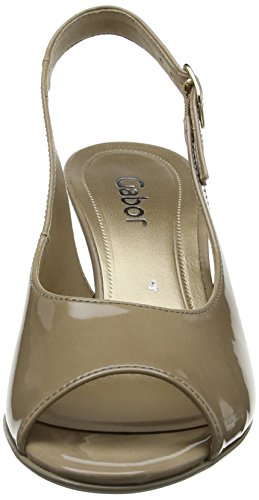 Gabor Shoes 21.803_Gabor Damen Slingback Pumps Beige (Beige)