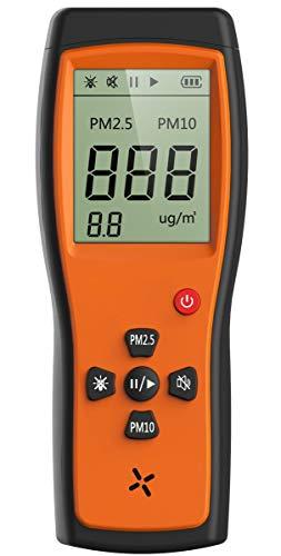 Luftqualität-Messgerät-Therm P-200 Luftqualität Laser Patticle Detektor Professionelle Meter Genaue Prüfung für PM2.5 / PM10 LCD Display