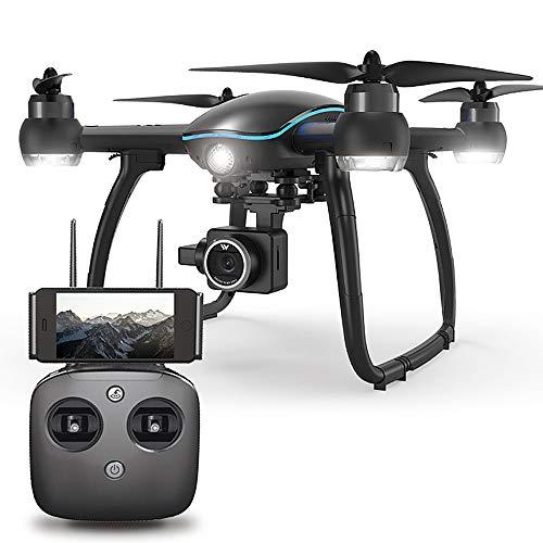 Goolsky ATTOP W GPS FPV RC Drohne mit HD Kamera 1080P Live ubertragung,Follow Me,Auto Höhenhaltung,Follow me,rc quadrocopter für Anfänger