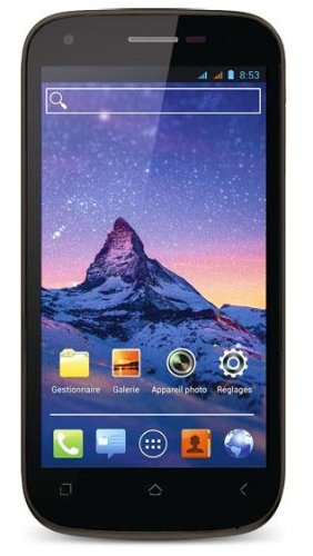 Wiko Cink Peax 2 Smartphone (11,4 cm (4,5 Zoll) IPS qHD-Touchscreen, 4 GB interner Speicher, Android 4.1.2) schwarz Qhd-smartphone