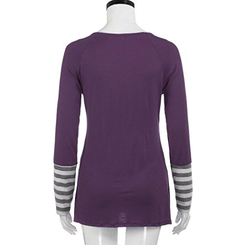 HKFV -  Gilet sportivo  - Natale - Donna Light Purple S