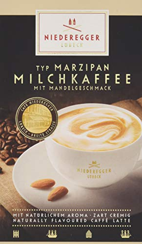 8x Niederegger Marzipan CAPPUCCINO Mandelgeschmack mild Versand 0€! 20,75€//KG