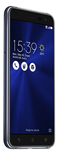 Asus ZenFone 3 (ZE552KL) Dual-SIM Smartphone (5,5 Zoll (14 cm) Full-HD Touch-Display, 64GB Speicher, Android 6.0) schwarz (Asus 6 Smartphone)