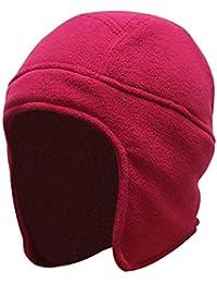 Qiusa Cappelli con Patta per Orecchie Invernali Unisex per Uomo Donna 681c2b8bb2a