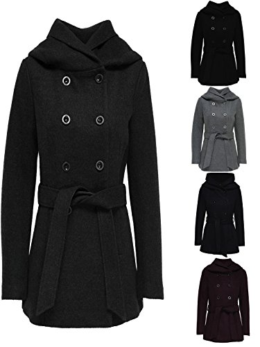 ONLY Damen Jacke Onlmary Lisa Short Wool Coat Cc OTW