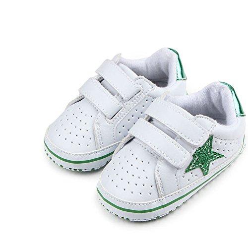 Meninos Salto Bebê Verdes Walker Sneakers Sapatos Sapo Sapatilhas tOOBqTwf