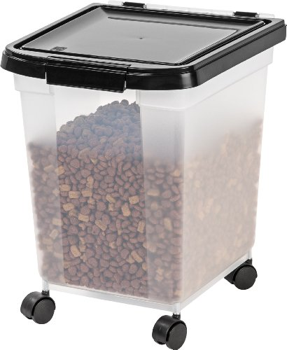 IRIS Nesting Airtight Pet Food Container, Large