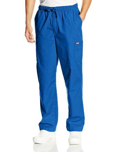 Cherokee  Herren Arbeitshose, Einfarbig Gr. XX-Large, Königsblau (Greys Anatomy Scrubs)