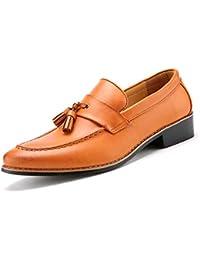 685aaa14c6 Zapatos Oxford para Hombre Zapatillas de Oficina clásicas Italianas Zapatos  de Vestir Calzado de Borla Formal