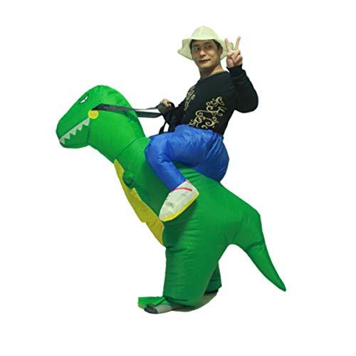 8HAOWENJU Inflatable Dinosa, Inflatable Dinosaurs, Inflatable Dinosaur Costume, Inflatable Dinosaur Clothes Aufblasbare Kleidung für Erwachsene Sumo Festival Requisiten Party Birthday Funny Dinosaur D