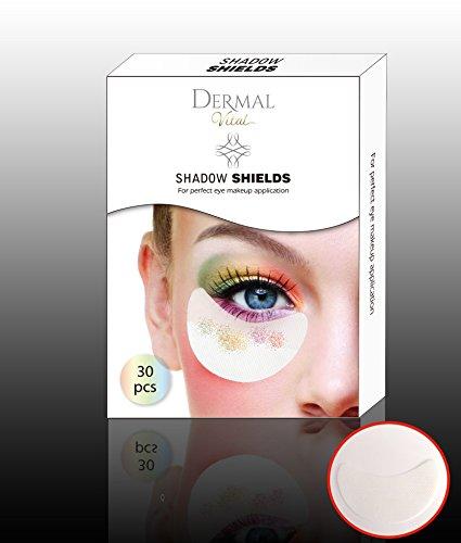 Shadow Shields Abdeckungen für Augen und Lippen Helfer beim Lidschatten Makeup eye make up (30x Stück) Dermal Vital® - 4