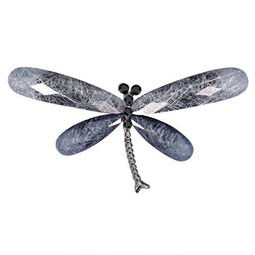 Gespout Libelle Brosche Mantel Pullover Brooch Nadel Weihnachten Brosche Geburtstag Geschenk Pin Kleidung Zubehör Dekoration (Vintage-kleidung Libelle)
