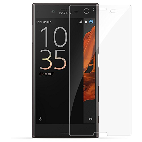 Sony Xperia XZ Premium Tempered Glass (HOKO®) (Shatter Proof 0.3mm 2.5D Round Edge) Anti Oil Real Tempered Glass With Electroplating Coating