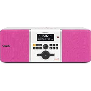 TechniSat digitradio 305 Schlager Paradis Edition (Dab + et fähiges FM Radio, idéal pour Les Les Télécommande Touche directe, Fixes Schlager Paradis)