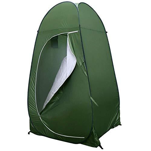 YLJYJ Toilettenzelt Umkleidezelt, Tragbar Tragbar Camping Dusche Zelt, Mobile Umkleidekabine Lagerzelt Kompakter und tragbarer Sonnenschutz zum Schutz der Privatsphäre der Toilette