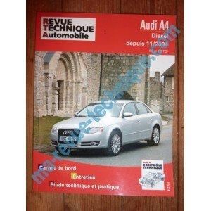 RRevue Technique0695.1 REVUE TECHNIQUE AUTOMOBILE AUDI A4 Diesel 1.9 et 2.0 TDI depuis 11/2004