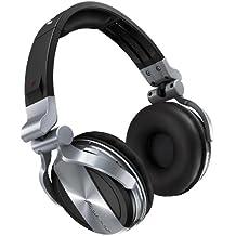 Pioneer HDJ-1500-S auricular - Auriculares (Supraaural, Diadema, 4 mW, Alámbrico, 285 g, 3,5 mm) Plata