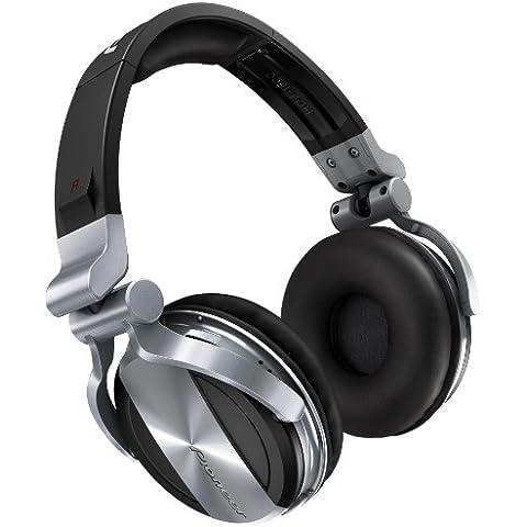 Pioneer HDJ-1500-S auricular - Auriculares (Supraaural, Diadema, 4 mW, Alámbrico, 285 g, 3,5 mm)