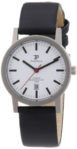 Time Piece Damen-Armbanduhr XS Titan Lederband Analog Quarz Leder TPLT-50222-11L