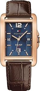 Tommy Hilfiger hombre-reloj analógico de cuarzo cuero 1791198 de Tommy Hilfiger