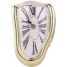YIDADIAN Reloj de fusión Salvador Dali Reloj de Estilo derretido Diseño de Estilo Reloj distorsionado para