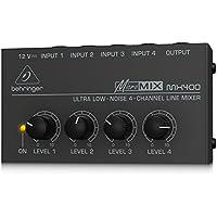 Behringer Micromix MX400 mini mixer line a 4 canali ultra-compatto