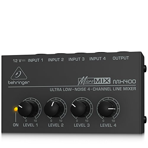 Behringer MICROMIX MX400 4-Channel Mixer